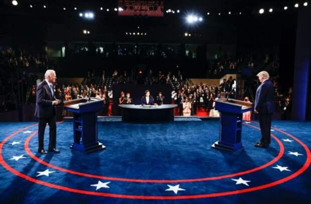 Финальные дебаты Дональда Трампа и Джо Байдена