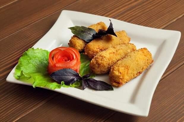 Картофельные палочки с сыром вкусно, интересное, картофель, полезно, рецепт