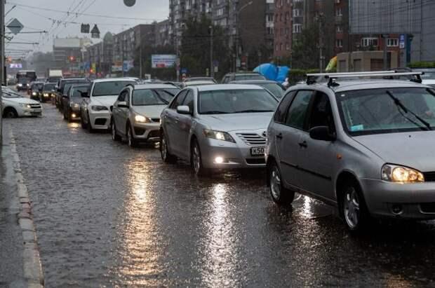 В понедельник в столице пройдет самый сильный ливень за 73 года