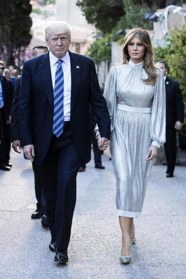 Самая стильная Первая леди современности: лучшие образы Мелании Трамп