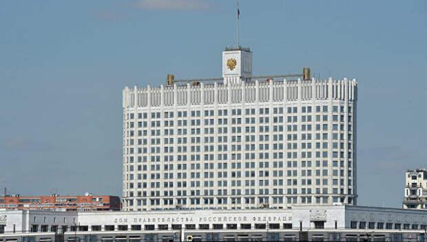Здание Дома Правительства. Архивное фото