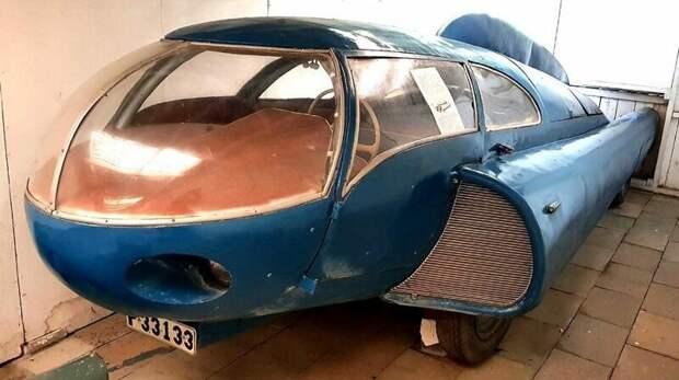 Автомобиль Берггрена, сохранившийся в авиационном музее шведского городка Уггларп авто, автомобили, атодизайн, дизайн, интересный автомобили, олдтаймер, ретро авто, фургон