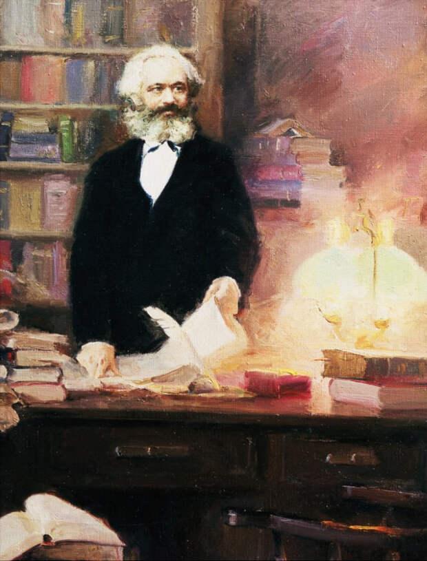 Незнакомый Маркс, неизбежность капитализма и «постэкономическое общество»
