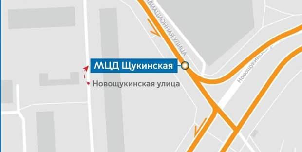В Щукине переименовали автобусную остановку