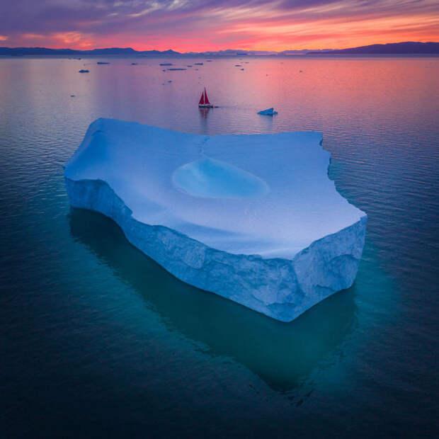 Исчезающая красота Гренландии в фотографиях Альберта Дроса