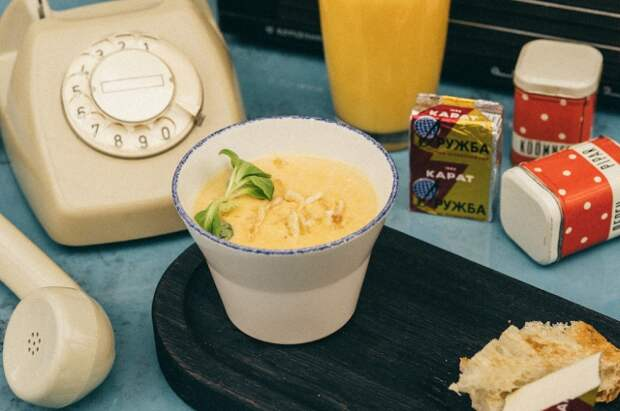 Суп из плавленого сырка
