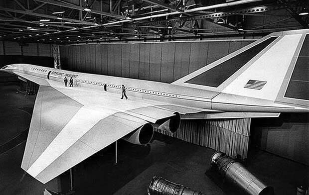 Самый громкий провал американского авиапрома: Boeing-2707