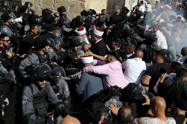 Цинкер: Беспорядки в Иерусалиме связаны с выборами в Палестинской автономии