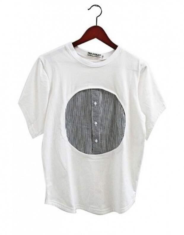 Рубашка в футболке