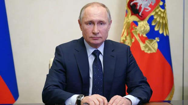 Президент России Владимир Путин  - РИА Новости, 1920, 13.05.2021
