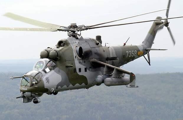 В Армении сбили российский военный вертолёт