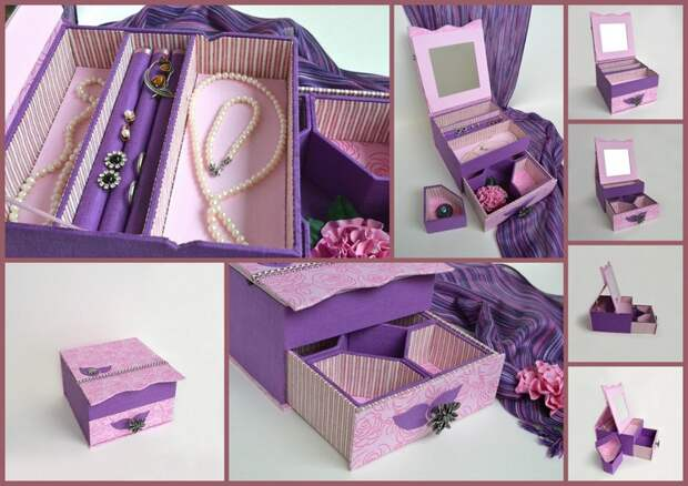Коробка для бижутерии