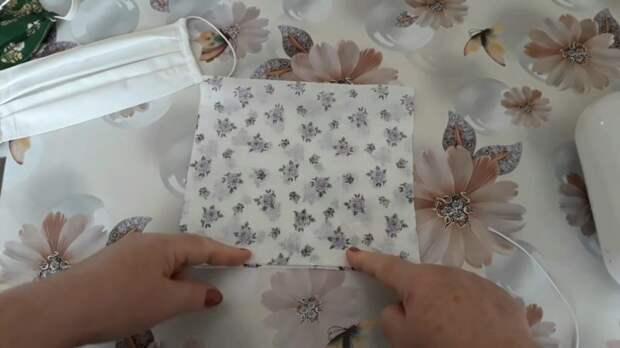 Защити себя и близких! Многоразовая тканевая маска своими руками.