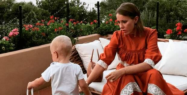 Ксения Собчак призналась, что беременность далась ей непросто