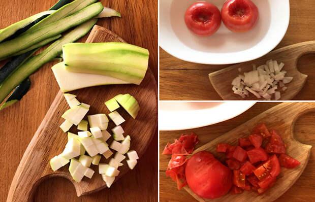 Суп с фасолью и овощами.