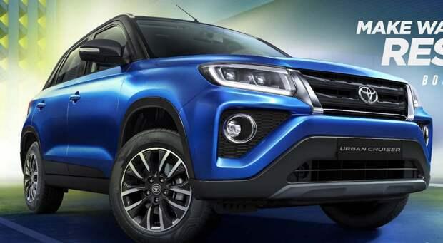 Теперь официально: Toyota показала сделанный из Suzuki бюджетный кроссовер Urban Cruiser