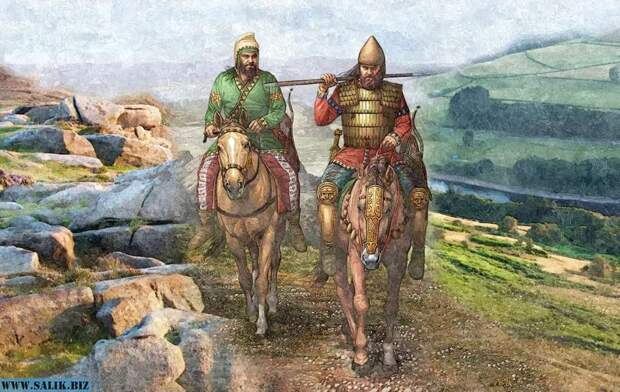 Воины-кочевники.