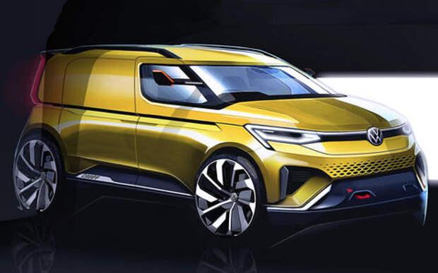 Новый Volkswagen Caddy: первые подробности