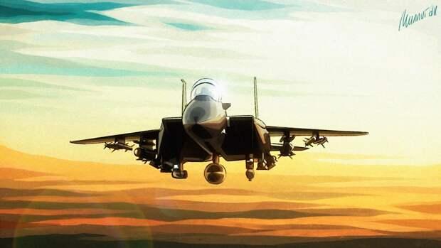 """Жители Лондона пожаловались на """"вторжение"""" истребителя ВВС США в спальный район города"""