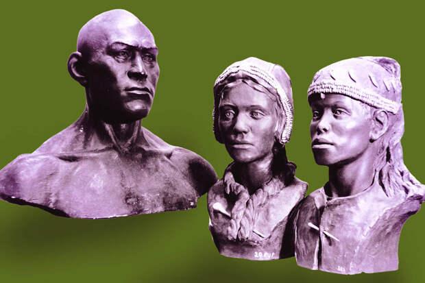 Люди Сунгиря