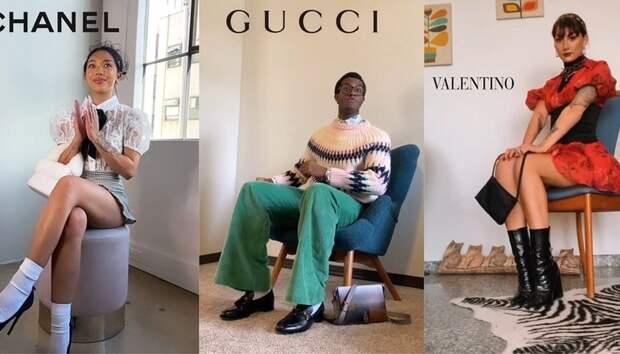 Как одеться на модный показ: в TikTok новый тренд