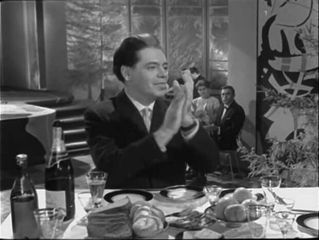 Аркадий Райкин на передаче 1964 года СССР, голубой огонек, ностальгия, старый новый год, эстрада