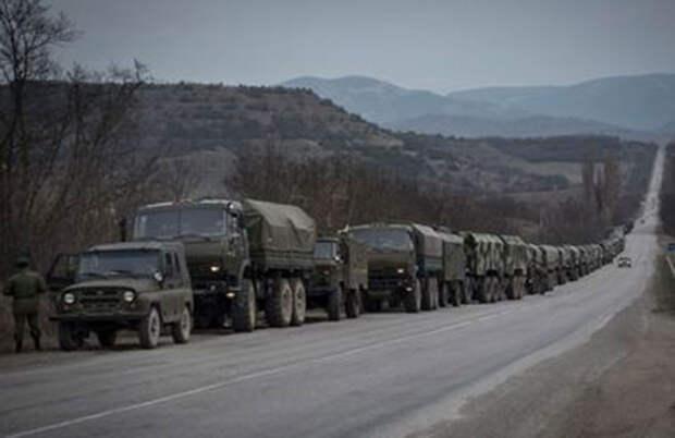 ОБСЕ: Колонна неопознанной военной техники движется к Донецку