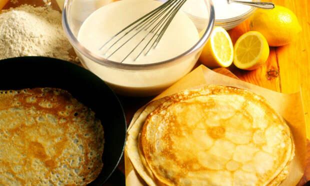 Кружевные блины: не прилипают к сковороде