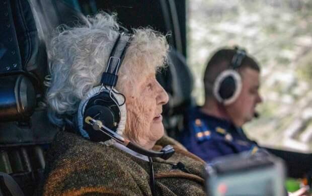99-летняя бабушка поставила новый рекорд: как проводит время ветеран ВОВ