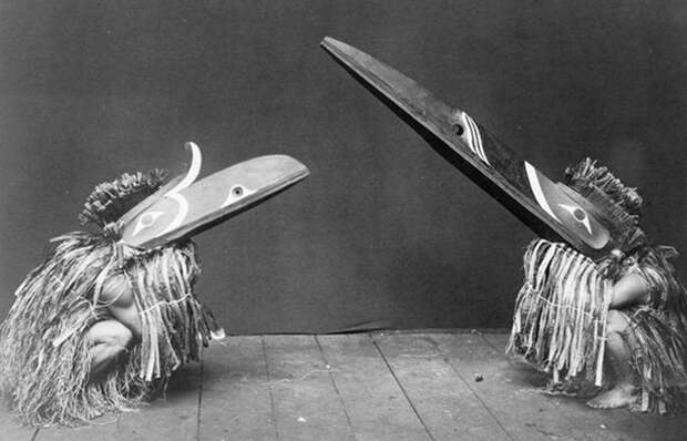 Одежда американских индейцев квакиутлов.