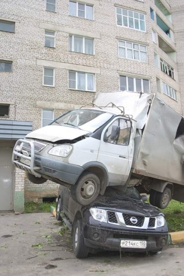 Ураган в Московской области
