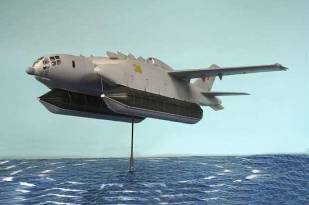 Установка буя: ВВА-14 завис над водой.