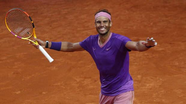 Надаль одолел Джоковича и выиграл теннисный «Мастерс» в Риме