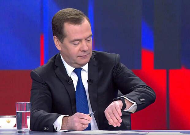 Телеинтервью премьер-министра России Дмитрия Медведева (2019)| Фото: youtube.com