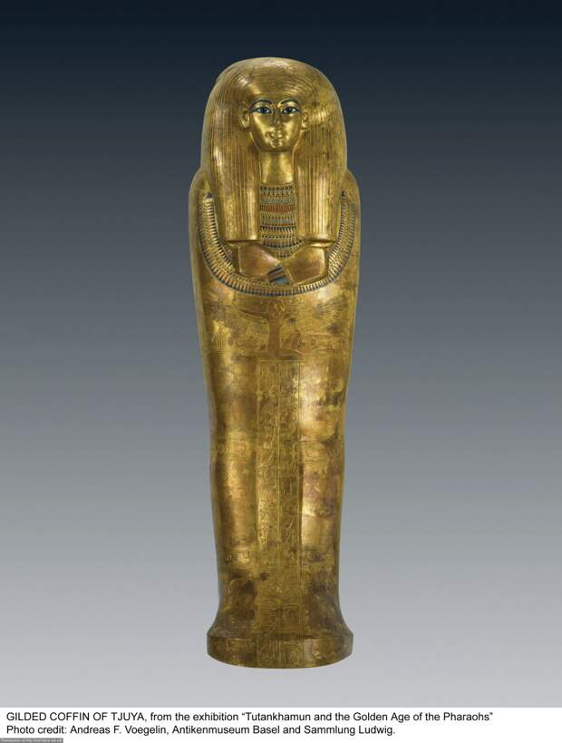 Gilded Coffin of Tjuya