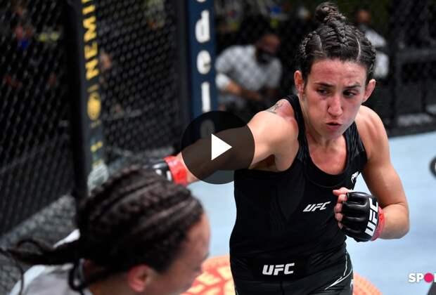 UFC Вегас 26: Марина Родригез (Бразилия) vs Мишель Уотерсон (США)