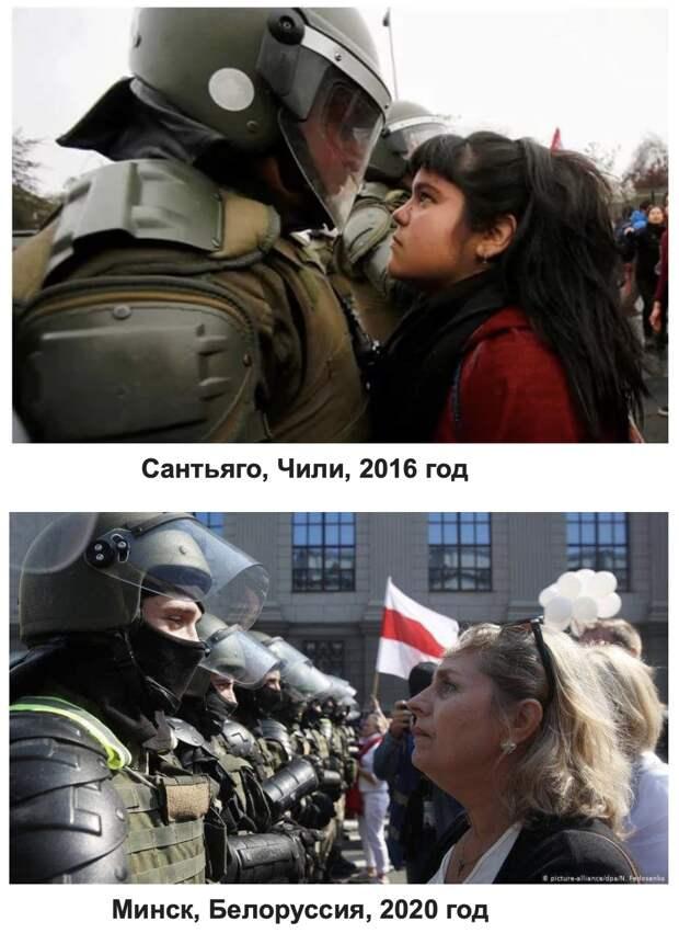 Очень уж халатно подошли организаторы к протестам в Белоруссии