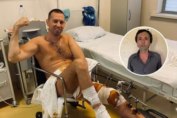 После нападения Тимур больше месяца находится в больнице, но старается не падать духом