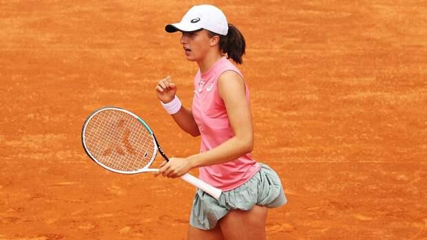 Швентек стала последним четвертьфиналистом «Ролан Гаррос»