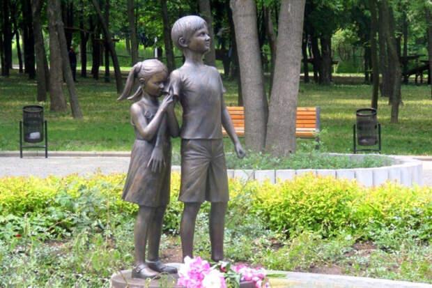 Памятник «Детям Донбасса, детям войны»