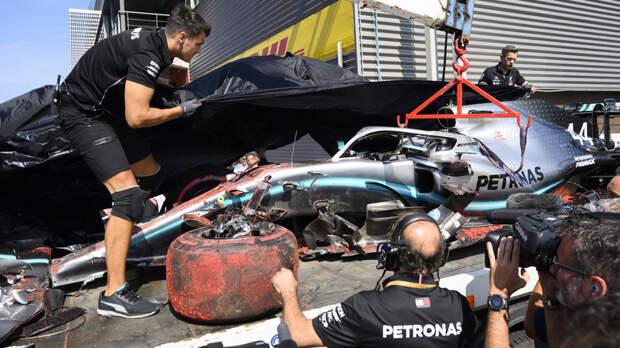 Гонка «Формулы-2» прервана из-за аварии и не будет возобновлена