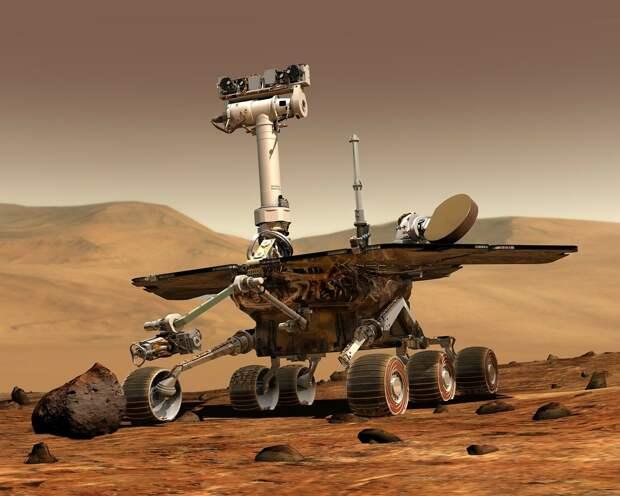 Российский космонавт уверен, что на Марсе уже есть жизнь