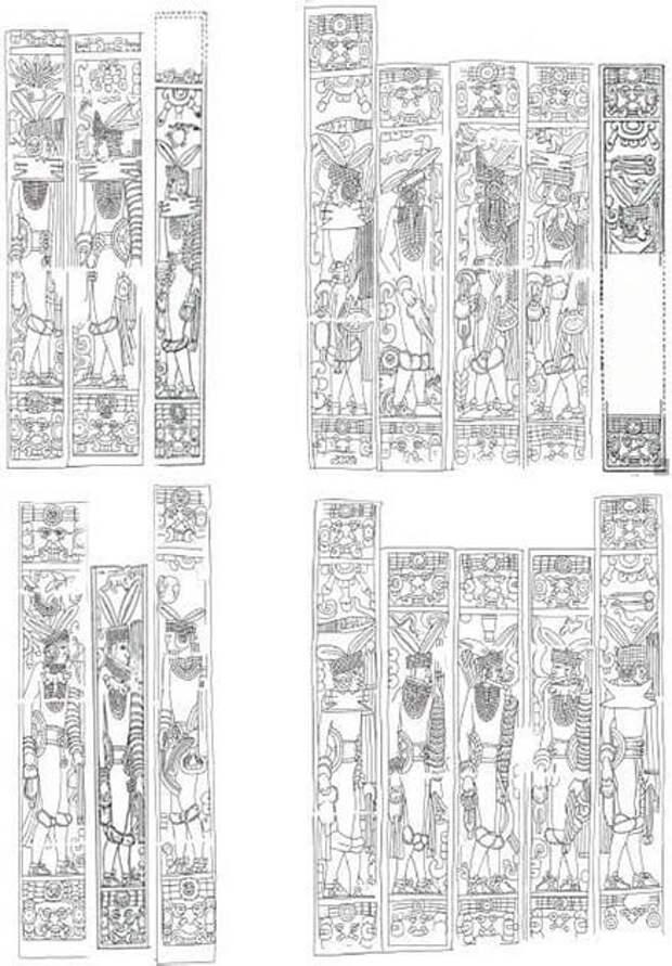 Расшифрованы записи майя на Храме Ягуаров в Чичен-Ице