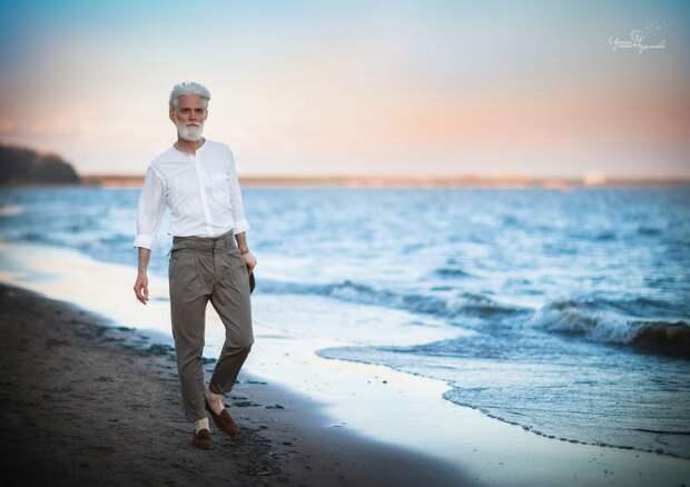 Любовь не заканчивается никогда Любовь, возраст, молодость души, море, пара, фото, чувства