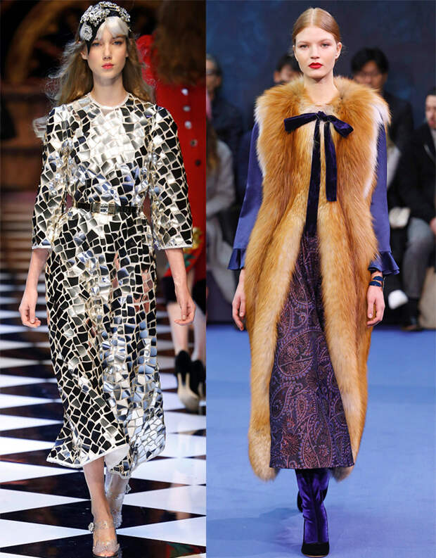 Модные тенденции 2016-2017 года