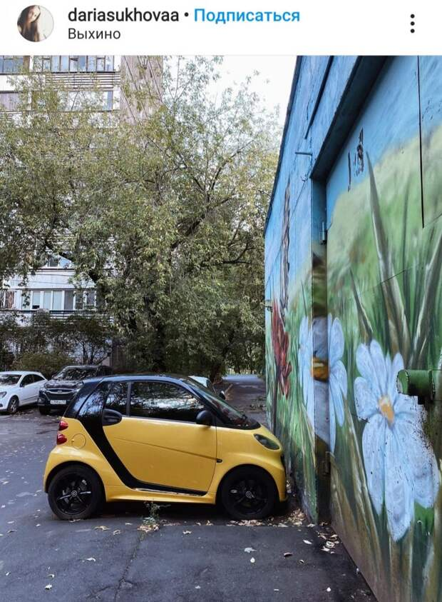Фото дня: виртуозная парковка в Выхине-Жулебине