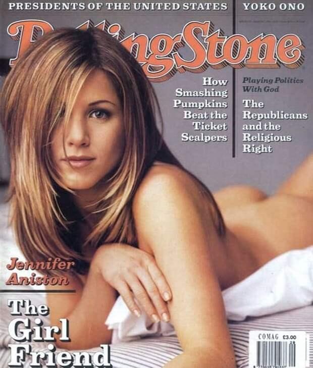 Легендарный Rolling Stone голливуд, дженнифер энистон, знаменитости, фото