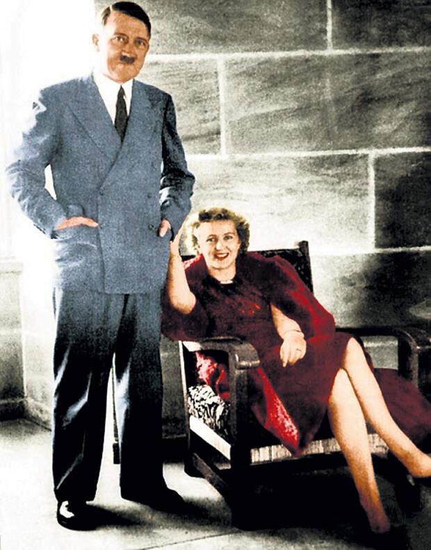 Если верить секретным архивам советской разведки, то Адольф ГИТЛЕР и Ева БРАУН не покончили с собой в Берлине, а спокойно умерли через несколько лет где-то в Аргентине
