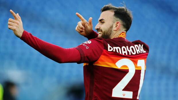 «Рома» на своем поле обыграла «Болонью» в Серии А