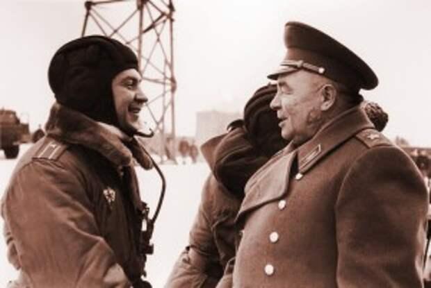 Поздравление командующего. 23 января 1976 г.